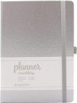Planner-muistikirja A5 hopea