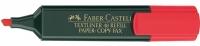 Korostuskynä Faber-Castell Textliner 48  punainen