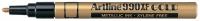 x Maalikynä Artline 990XF 1,2mm kulta