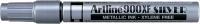 Maalikynä Artline 900XF 2,3mm hopea