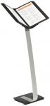 Esiteteline Durable Sherpa Stand Pro 10 A4  jalallinen musta/hopea