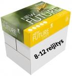 Kopiopaperi New Future Laser A4 80g 8-12 rei'itys 500ark/rsi