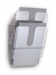 Seinäteline Durable FlexiPlus 2-osainen A4 pysty kirkas