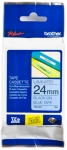 Brother P-touch-teippi TZe-551 24mm x 8m musta/sininen