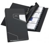 Käyntikorttikansio Durable Visifix Pro  145x255mm musta