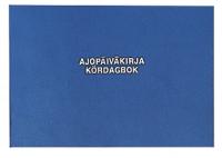 Ajopäiväkirja 186 A5L 32 sivua (vapaa autoetu)