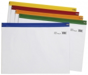 Vetoketjutasku Snopake Zippa-Bag A3 värilajitelma
