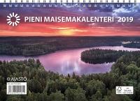 Seinäkalenteri Pieni maisemakalenteri 2019 UUTUUS