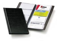 Käyntikorttikansio 96 kortille musta