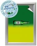Julistekehys A4 Snap-pikakiinnitys vesitiivis