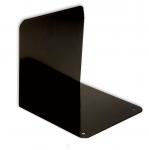 Kirjatuki musta 14cm metallia 2kpl/pkt