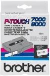 x Brother P-touch-teippi TX-231 12mm x 15m laminoitu musta/valkoinen
