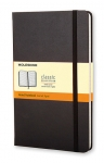 Muistikirja Moleskine Hard Cover Classic Large viivat musta
