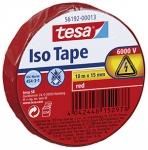 Sähköteippi Tesa 15mm x 10m punainen