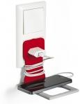 x Matkapuhelinteline Durable Varicolor Phone Holder punainen