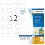 Tarra Herma 4477 irtoava pyöreä 60mm  valkoinen 1200kpl/pkt