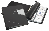 Käyntikorttikansio Durable Visifix Pro A4  musta