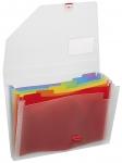 Lajittelukansio Snopake Rainbow Organiser 6-osainen