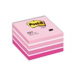 Viestilappukuutio Post-it 2028P 76x76mm/450  pinkki pastelli