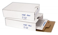 Arkistointiboxi Classic A4 8cm valkoinen + arkistolevy
