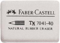 Pyyhekumi Faber-Castell 7041-40 valkoinen  40kpl/pkt