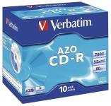 CD-R Verbatim 700MB 52x Jewel Case 10kpl/pkt