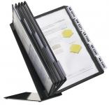 Durable Vario Table 10 pöytäteline A4 10 taskua musta