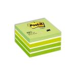 Viestilappukuutio Post-it 2028G 76x76mm/450  vihreä pastelli