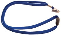 Kaulanauha CardKeep sininen 90cm nipistimellä