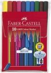 Huopakynä Faber-Castell Grip värilajitelma  10kpl/pkt