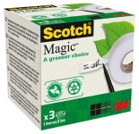 Asiakirjateippi Scotch Magic Eko 900 19mm x 33m 3rll/ras