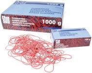 Kumilenkki 100x150x1mm punainen 1kg/pkt