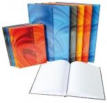 x Muistikirja Vivendi A5/96 ruudut 7x7mm sidottu värilajitelma