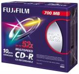 x CD-R Fuji 700MB 52x Slimline Case 10kpl/pkt