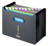 Pöytälajittelija Snopake Eligo Desk Expander 13-osainen musta