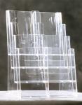 Pöytäteline Taymar 4C230 A4 4-osainen kirkas