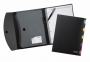Luentokansio Snopake Eligo Notepad Wallet A4 musta