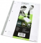Lisälehtiö Eligo Notepad Wallet A4/50 viivat 8-8-8 rei´itys
